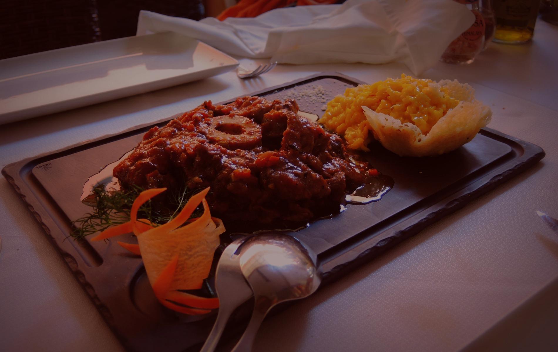 Ausgezeichnetes Essen