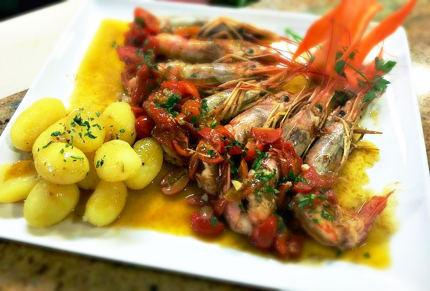 King Prawns – Guazetto Style